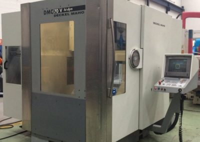 Vertical machining center DECKEL MAHO DMC 70V HI-DYN