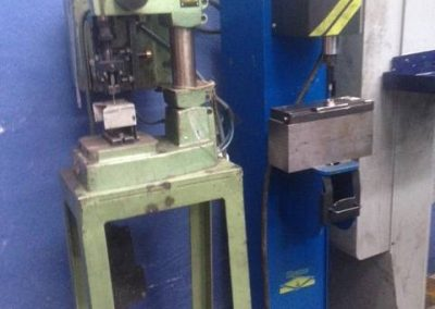 Impact pneumatic press COUTH and RYME