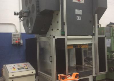 Prensa mecánica cuello de cisne DELTECO PE-160