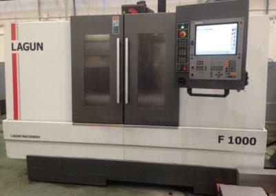 Vertical machining center LAGUN F 1000