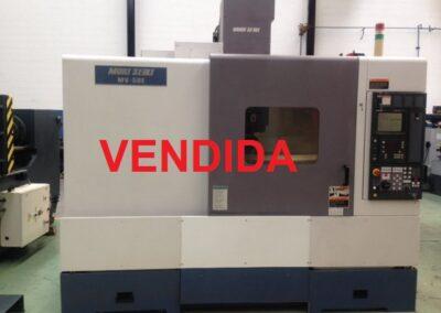Centro de mecanizado vertical MORI SEIKI MV 50 E