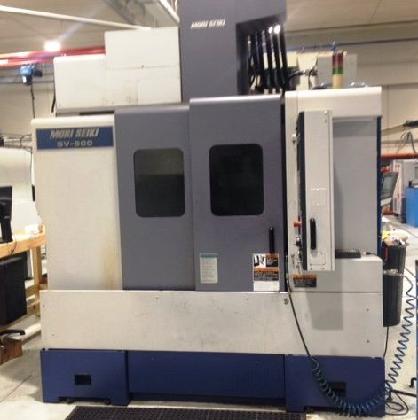 Centro de mecanizado vertical MORI SEIKI SV 500/50