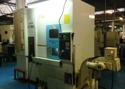 Cnc lathe  NAKAMURA TOME TMC 12 with GANTRY loader