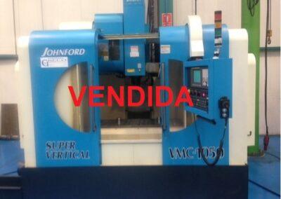 Centro de mecanizado vertical JOHNFORD VMC 1050
