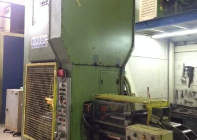 Hydraulic press ARISA SC 100 S + Power line, Feeder and Straighteners  LASA