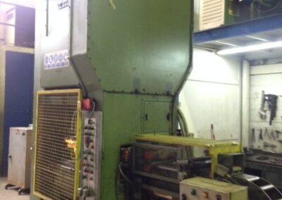 Prensa hidraulica ARISA SC 100 S + Alimentador, Enderezador y Devanadora LASA