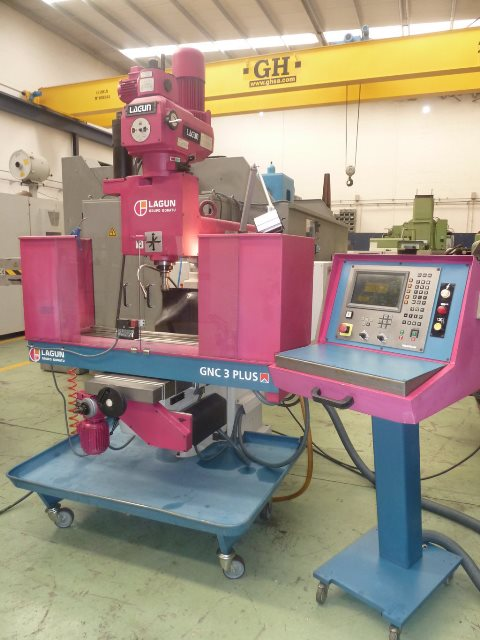 Cnc milling machine LAGUN GNC 3 PLUS with HEIDENHAIN cnc