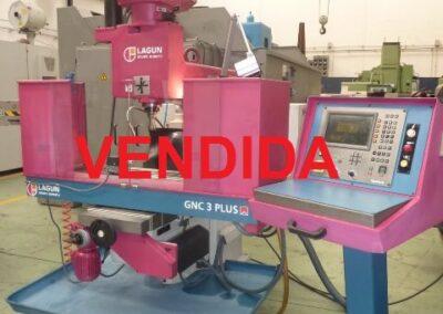 Fresadora cnc LAGUN GNC 3 PLUS con control HEIDENHAIN