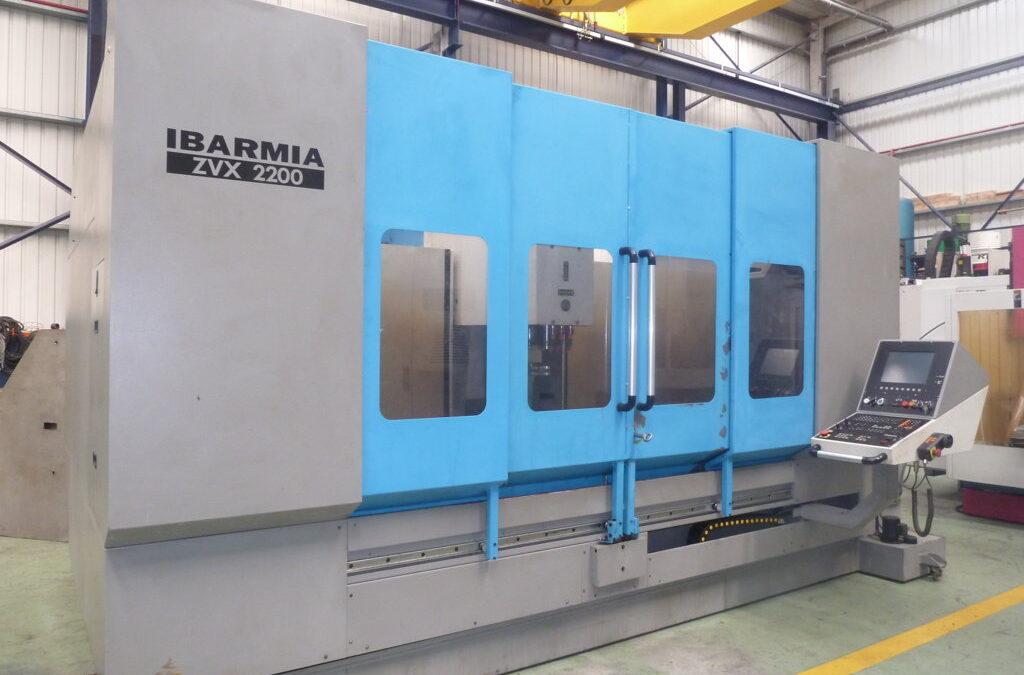 Vertical machining center IBARMIA ZVX 2200 cnc HEIDENHAIN