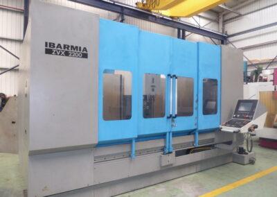 Centro de mecanizado vertical IBARMIA ZVX 2200 con control HEIDENHAIN