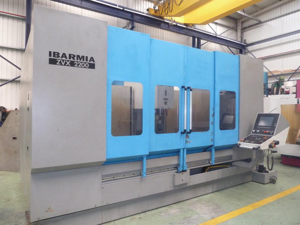 Centro de mecanizado IBARMIA ZVX 2200 con control HEIDENHAIN