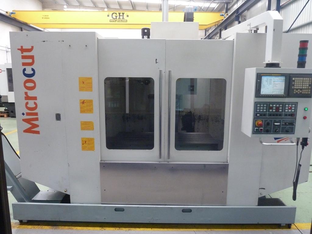 Centro de mecanizado vertical MICROCUT CHALLENGER VMC 1300  control FANUC