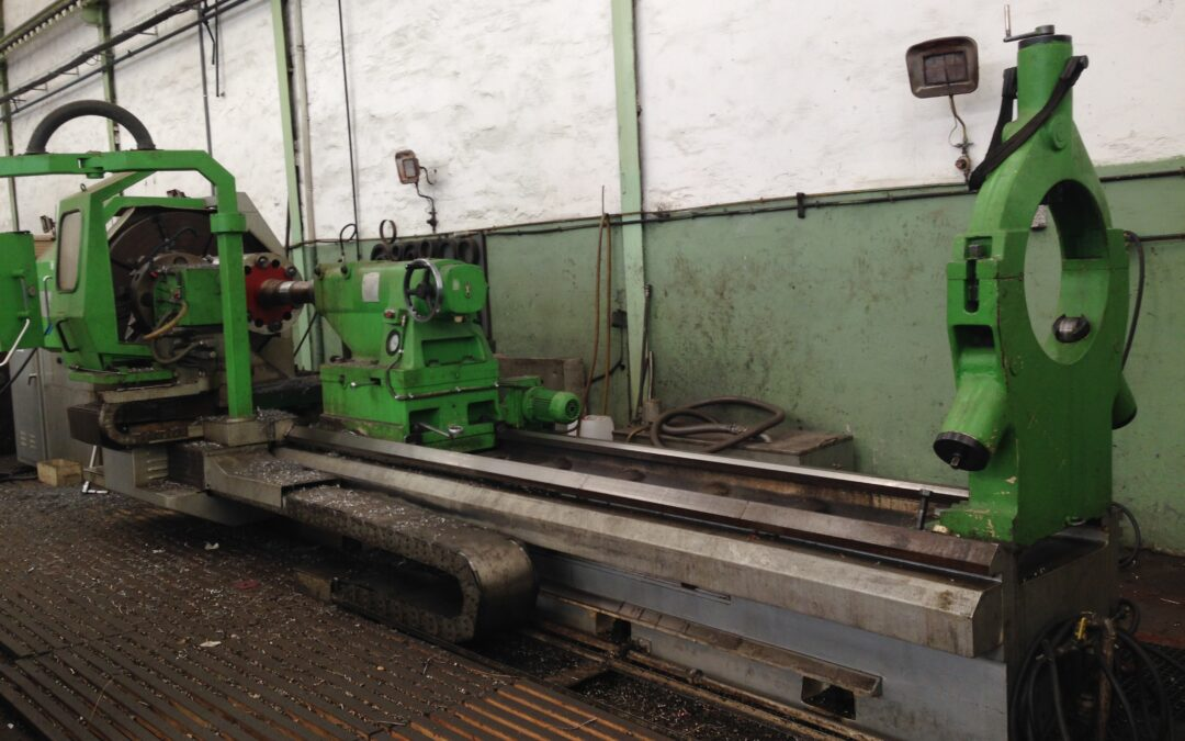 Parallel lathe  GEMINIS CNC 1400 with FAGOR cnc