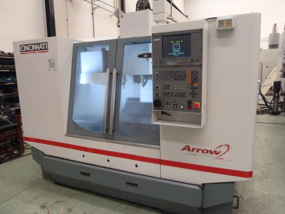 Centro de mecanizado vertical CINCINNATI ARROW 750 control HEINDEHAIN 410/426