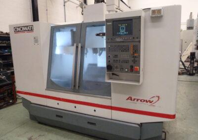 Vertical machining center CINCINNATI ARROW 750cnc HEINDEHAIN 410/426