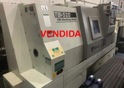 Torno cnc CMZ TBI 520 con control FANUC 18i TB