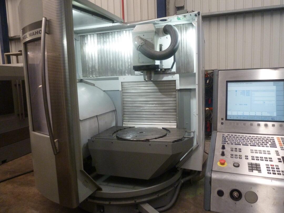 Centro de mecanizado vertical DECKEL MAHO DMU 60 T