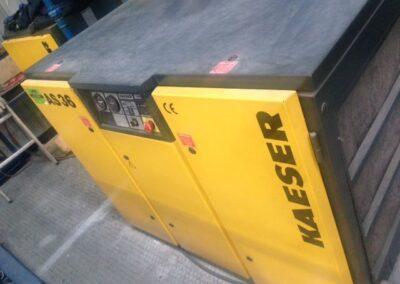 Conjunto compresor y secador KAESER