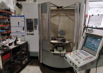 Centro de mecanizado DECKEL MAHO DMC 60 U hi-dyn
