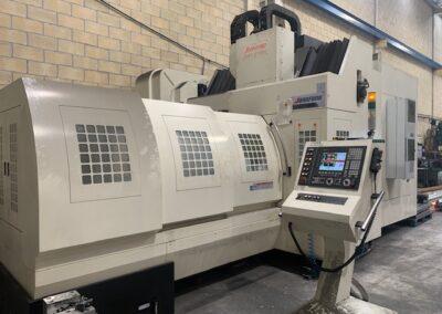 Centro de mecanizado JOHNFORD DMC 2100 H con GANTRY
